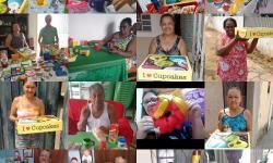Idosos participantes do projeto receberam cestas de café da manhã