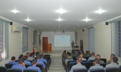 Militares do Departamento VCB, do setor de Inteligência do Com6ºDN e do HNLa também contribuíram com a palestra