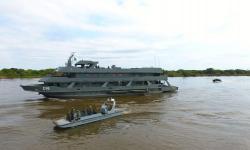 Operação se desenvolveu na região de Corumbá, Ladário e Porto Murtinho, abrangendo aproximadamente 600 km de linha de fronteira