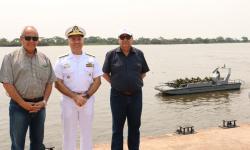 Comando do 6º Distrito Naval recebe visita do Programa Calha Norte