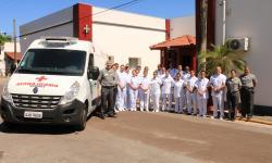 Chegada de nova ambulância amplia capacidade de atendimento do HNLa