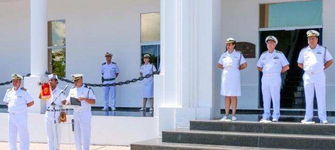 Cerimônia alusiva à passagem da função de Chefe do Estado-Maior do Com6DN