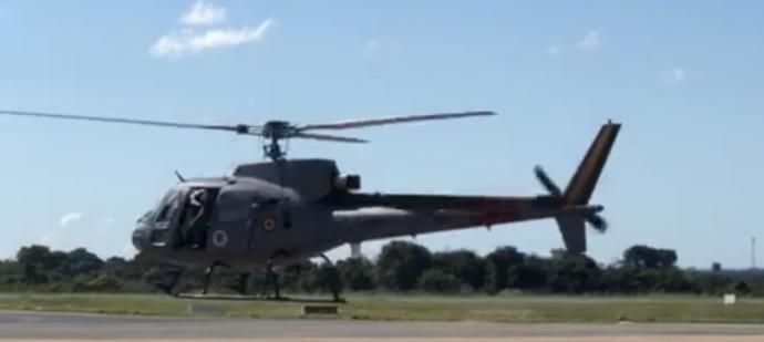 Aeronave está apoiando ações do Comando Conjunto Barão de Melgaço