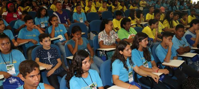 Estudantes do 6º ao 9º ano apresentaram projetos sobre meio ambiente