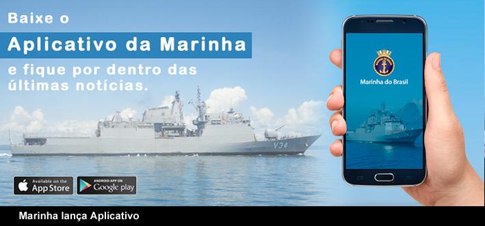 Conheça e Baixe o Aplicativo da Marinha