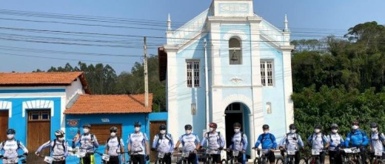 Comando do 8º Distrito Naval promove Peregrinação Ciclo Turística Esportiva na Rota da Luz (SP)