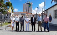 Militares e alguns representantes da Comunidade Marítima celebram o dia Internacional do Marítimo