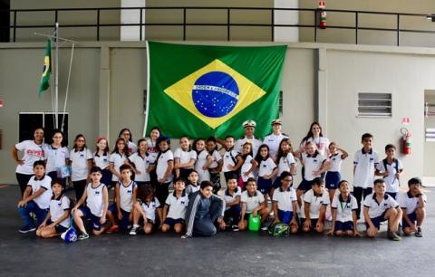 Crianças do Centro Educacional M. Fialho