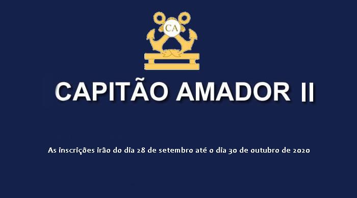 Segundo Exame de Habilitação para Capitão-Amador (CPA) II/2020
