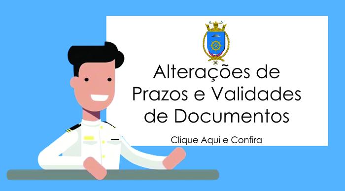 Alterações de Prazos e Validades de Documentos TIE