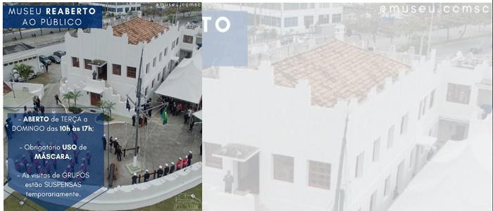 Reabertura do CCMSC - Forte Santa Bárbara
