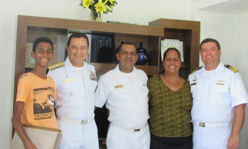 CPSE ENTREGA PRIMEIRAS CASAS REFORMADAS NA VILA NAVAL DE BARRA DOS COQUEIROS