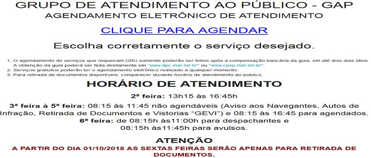AGENDAMENTO ELETRÔNICO DE ATENDIMENTO