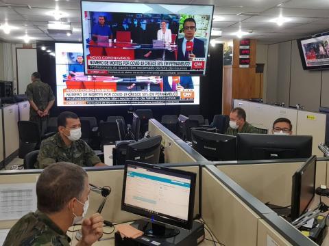 Centro de Coordenação de Logística e Mobilização, no Ministério da Defesa