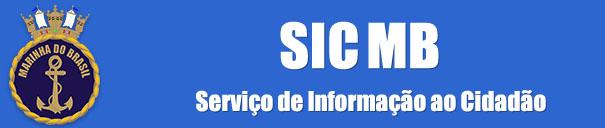 Serviço de Informações ao Cidadão da Marinha do Brasil (SIC MB)