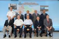 Comandante da Marinha, DGN e DPC reunidos com eternos Diretores