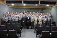 Participantes do ESPOC I/2019 reunidos no auditório da DPC
