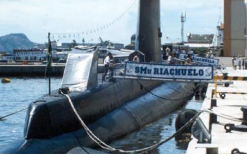 Popa do Submarino - Rampa e vela