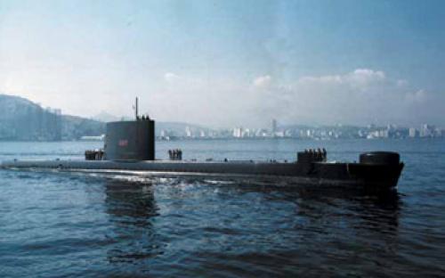 Submarino Riachuelo na ativa