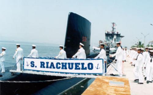 Rampa e vela do Submarino-Museu Riachuelo