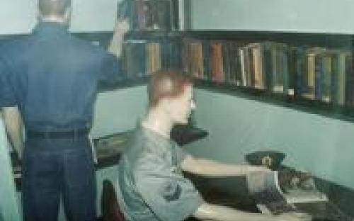 Sala de Leitura de bordo