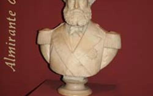 Busto, em mármore, do Almirante Barroso, de Soares Reis