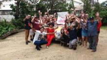 Participantes do Projeto Vida Ativa em visitação ao Museu do Caju do Ceará