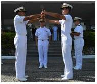 Escola Naval realiza Cerimônia de Passagem da Cana do Leme