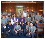 Escola Naval celebra missa pelo patrono do Quadro de Capelães