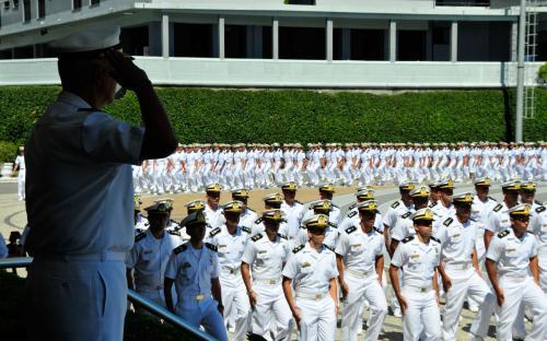 Formatura Escola Naval Turma 2015