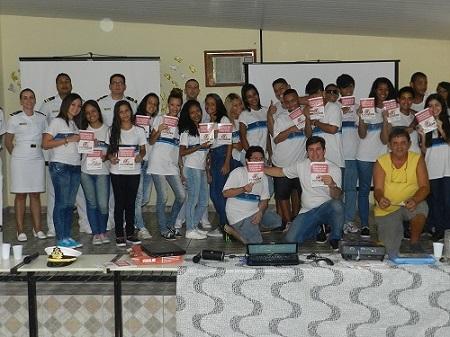 Palestra na Escola Municipal Rotary