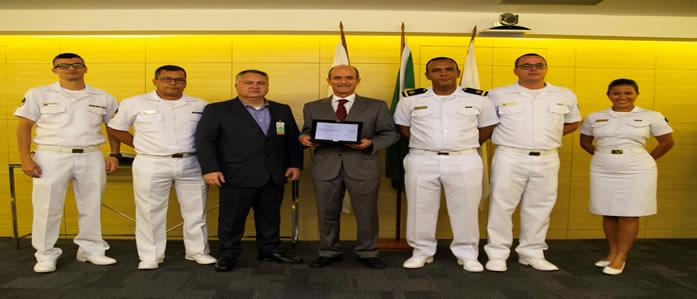 Salvamar Brasil recebe prêmio