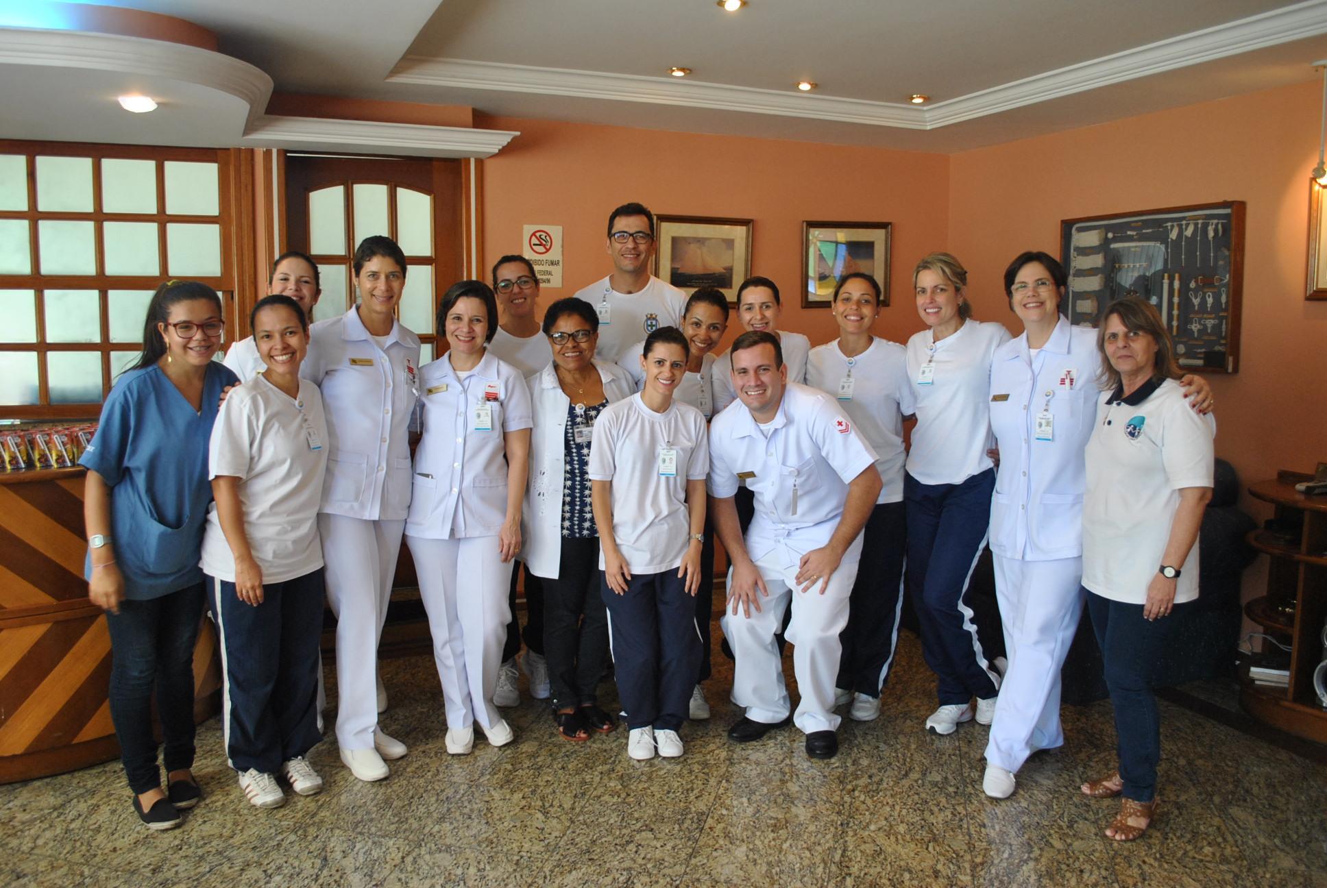 Equipe enfermagem