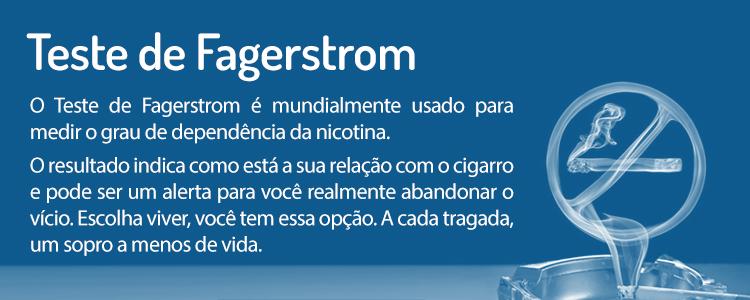 TESTE DE FAGERSTROM
