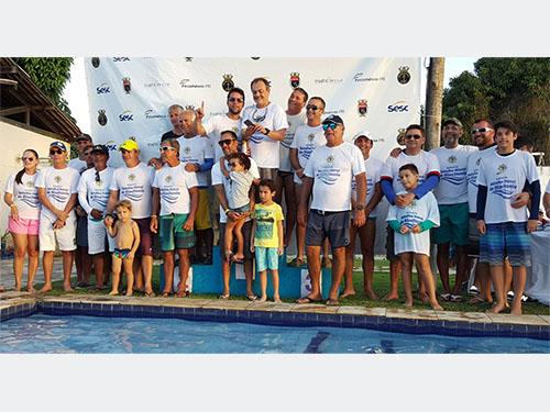 """92e1c5758 Velejadores participantes da """"Regata Batalha Naval do Riachuelo"""""""