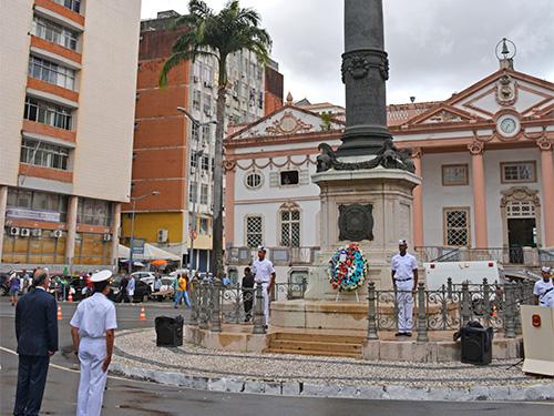 e02983c2e3 Cerimônia em memória aos heróis de Riachuelo é realizada em Salvador (BA)