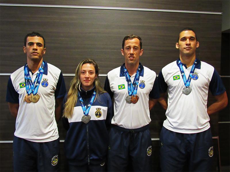 ec4f347350 Militares da Marinha que integraram a seleção brasileira de Taekwondo