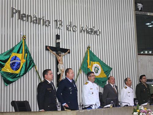 d45a16374 Assembleia Legislativa do Ceará homenageia a Marinha