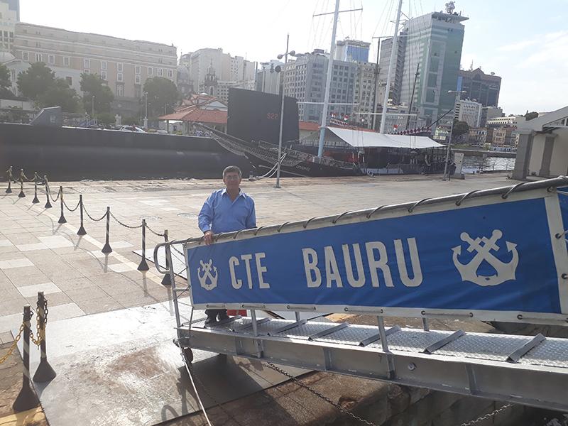 """Presidente SOAMAR-Brasil em Portugal em visita ao Navio Museu """"Bauru"""" 723fa8e3cbc29"""