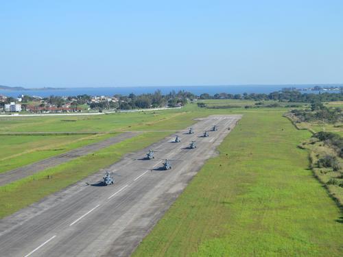 66a1482c8ca 2º Esquadrão de Helicópteros de Emprego Geral realiza voo com oito  aeronaves simultaneamente
