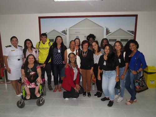 e9cf1be751852 Alunos da PUC-Rio participam de atividade sobre o Serviço Social na Marinha