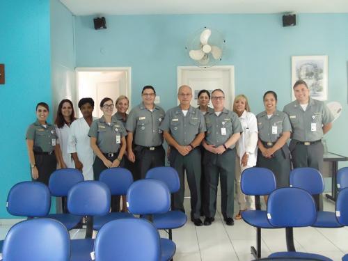 0312dada16564 Diretor-Geral do Pessoal da Marinha visita Centro de Dependência Química