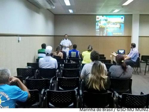 CPAL realiza palestra para proprietários de embarcações de transporte de passageiros