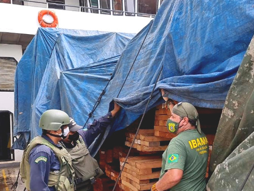 198m3 of lumber seized near Barcarena
