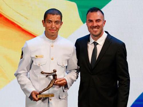 Sargento Uncas Batista agraciado pelo Comitê Olímpico do Brasil em 2018 f165404883934