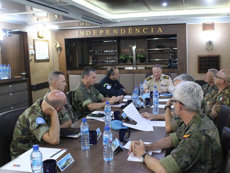 Reunião da Liderança Militar da Unifil f26e6489ebd
