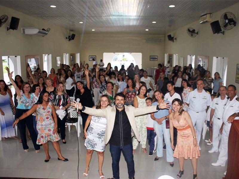 Voluntárias Cisne Branco Subseccional Fortaleza Comemoram