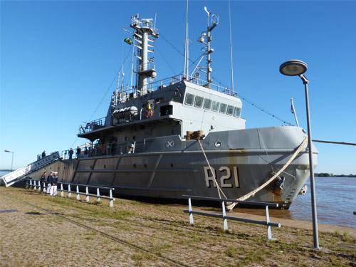 d298e2e38 A presença do navio em Porto Alegre (RS)