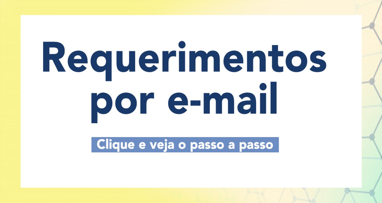 Requerimentos por e-mail